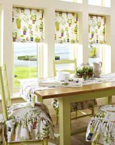 roman blinds by curtain creations by Sheila