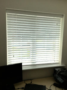 Wooden Venetian Blinds from Curtain Creation