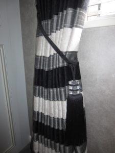 Curtain Creation - Curtain poles and tiebacks
