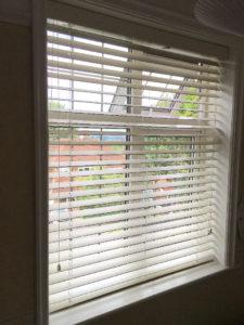 Light wooden window blinds Surrey