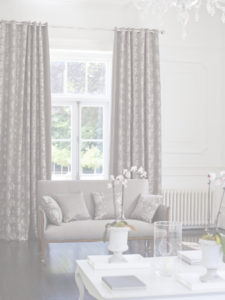 Made to meausre lounge curtains
