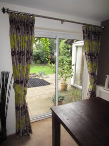 Made to measure curtains by curtain creation in surrey