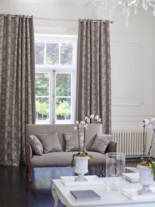 Long curtains made to measure Surrey
