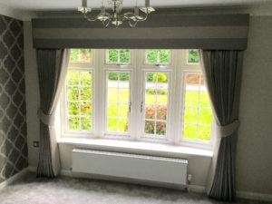 full length curtains by Curtain Creation Surrey