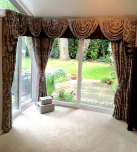 Full length curtains - made to measure